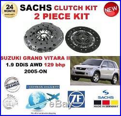 Pour SUZUKI GRAND VITARA II 1.9 DDiS AWD 129 BHP à partir de 2005 SACHS 2 pièce