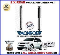Pour Suzuki Grand Vitara AWD modèles 2005-2x AMORTISSEUR ARRIÈRE SET