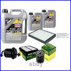 Révision D'Filtre LIQUI MOLY Huile 7L 5W-40 Pour Suzuki Grand Vitara I FT