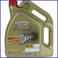 Révision Filtre Castrol 10L Huile 5W30 pour Nissan Note E11 NE11 1.5 DCI