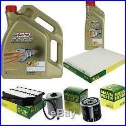 Révision Filtre Castrol 6L Huile 5W30 pour Suzuki Grand Vitara II JT Te Td
