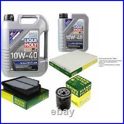 Révision Filtre LIQUI MOLY Huile 6L 10W-40 Pour Suzuki Grand Vitara II JT 2.4