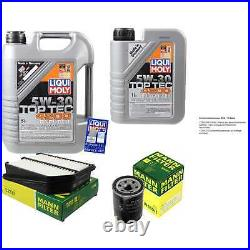 Révision Filtre LIQUI MOLY Huile 6L 5W-30 Pour Suzuki Grand Vitara II, JT