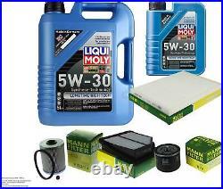 Révision Filtre LIQUI MOLY Huile 6L 5W-30 Pour Suzuki Grand Vitara II JT de Te