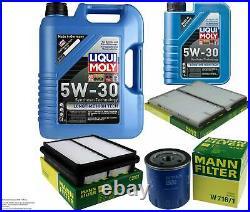 Révision Filtre LIQUI MOLY Huile 6L 5W-30 Pour Suzuki Grand Vitara I FT