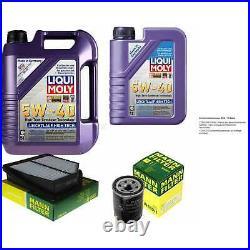 Révision Filtre LIQUI MOLY Huile 6L 5W-40 Pour Suzuki Grand Vitara II, JT