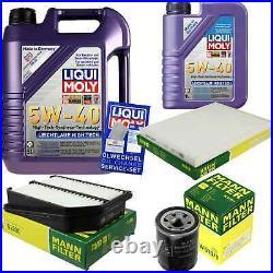 Révision Filtre LIQUI MOLY Huile 6L 5W-40 Pour Suzuki Grand Vitara II JT 1.6