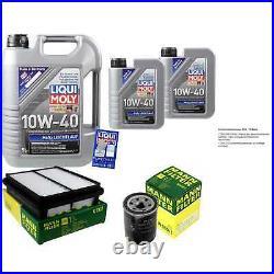 Révision Filtre LIQUI MOLY Huile 7L 10W-40 Pour Suzuki Grand Vitara I FT Gt