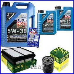 Révision Filtre LIQUI MOLY Huile 7L 5W-30 Pour Suzuki Grand Vitara I FT Gt