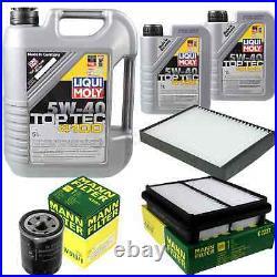 Révision Filtre LIQUI MOLY Huile 7L 5W-40 Pour Suzuki Grand Vitara I, FT