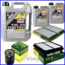 Révision Filtre LIQUI MOLY Huile 7L 5W-40 Pour Suzuki Grand Vitara I' FT