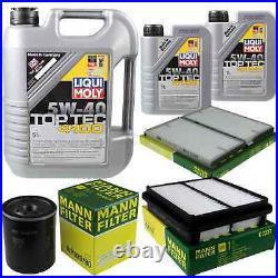 Révision Filtre LIQUI MOLY Huile 7L 5W-40 Pour Suzuki Grand Vitara I  FT