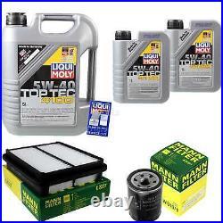 Révision Filtre LIQUI MOLY Huile 7L 5W-40 Pour Suzuki Grand Vitara I. FT