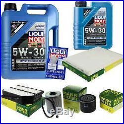 Révision Filtre Liqui Moly Huile 6L 5W-30 pour Suzuki Grand Vitara II JT