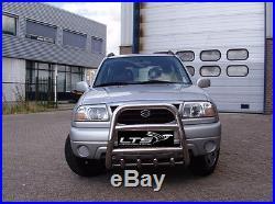 Suzuki Grand Vitara 1998-2005 Chrome Axle Nudge A-bar, Bull Bar