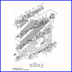 SUZUKI GRAND VITARA 1.6 2.0 P 5 vitesses boîte de pièces ROULEMENT KIT JOINTS