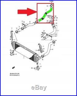 SUZUKI GRAND VITARA 1.9 DDiS TUYAU D'INTERCOOLER TURBO DURITE 13665-67J10