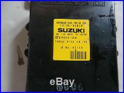 SV2 SUZUKI GRAND VITARA CENTRAL APPAREIL DE COMMANDE 38700-65d00