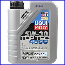 Sketch D'Inspection Filtre Liqui Moly Huile 6L 5W-30 Pour Suzuki Grand Vitara I