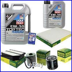 Sketch D'Inspection Filtre Liqui Moly Huile 6L 5W-30 Suzuki Grand Vitara II JT