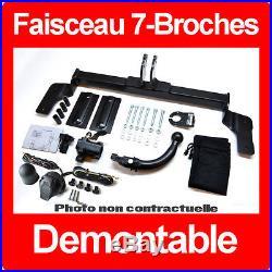 Suzuki Grand Vitara 1998-2005 3/5 portes Attelage Demontable + Faisceau 7 Broche