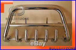 Suzuki Grand Vitara 1998-2005 Pare-buffle Bas Avec Grille De Protection Inox