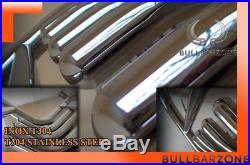 Suzuki Grand Vitara 2006-2014 Pare-buffle Haut Avec Grille De Protection En Inox
