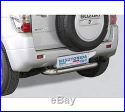 Suzuki Grand Vitara 3 Portes 05-08 PROTECTIONS ARRIÈRE ø 76 INOX VERSION 3 POR