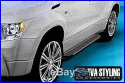Suzuki Grand Vitara 5DR 2006-13 Alu Marche-Pieds Sapphire Argent Stocks