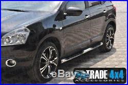 Suzuki Grand Vitara 5DR Guidon Latéral Pas Acier Inoxydable 76MM Xk Tuning 06+