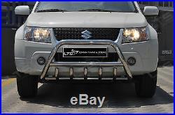 Suzuki Grand Vitara Chrome Essieu Coup A-Bar Acier Inoxydable Pare-Buffle
