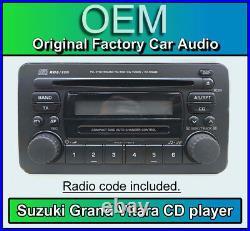 Suzuki Grand Vitara Lecteur CD Stéréo Radio, Suzuki PS-2599D 39101-50J90