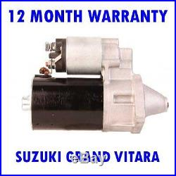 Suzuki Grand Vitara Mk1 (I) 1.6 2.0 1998-2003 Rmfd Démarreur Moteur