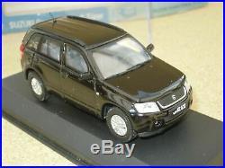 Suzuki Grand Vitara noir 2005 143 diecast model RIETZE Modell Modellauto