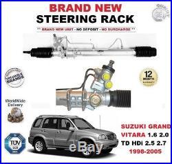 TOUT NOUVEAU Crémaillère direction pour Suzuki Grand Vitara 1.6 2.0 TD HDI 2.5