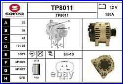 TP8011 SNRA Alternateur pour CITROËN C8 (EA, EB)