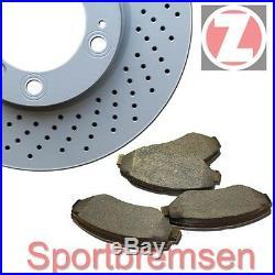 Zimmermann Disques de Frein Sport + Plaquettes avant Suzuki Grand Vitara II JT